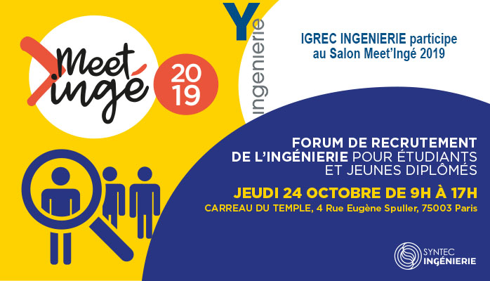 OCTOBRE 2019 - SALON MEET'INGÉ